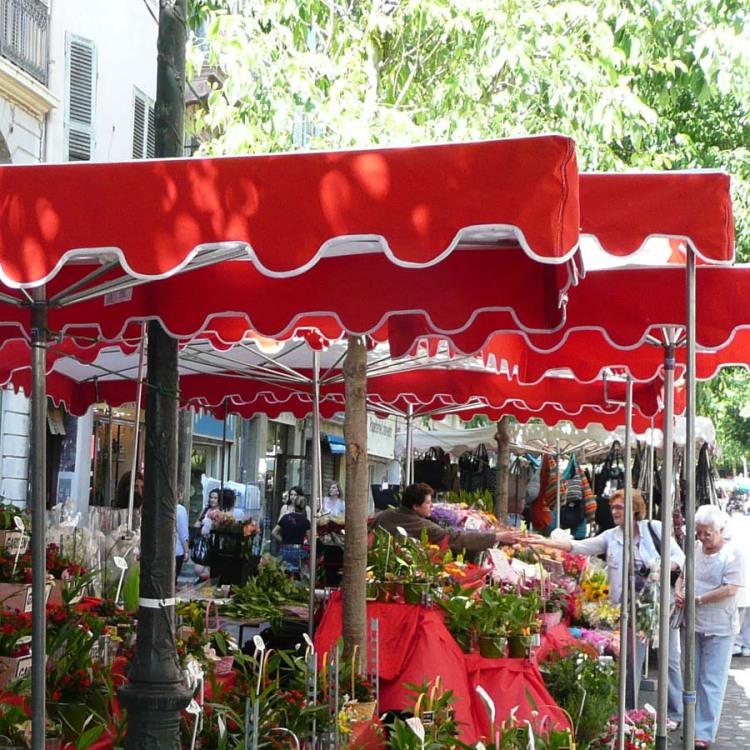 parasol forain Toulon fleur