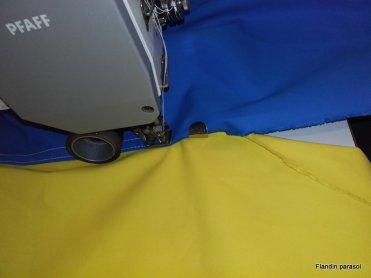 assemblage toile coton