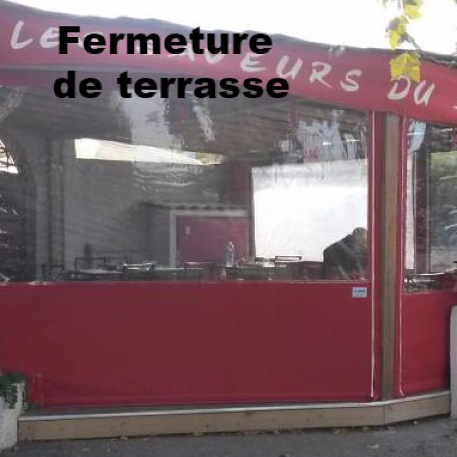 fermeture terrasse