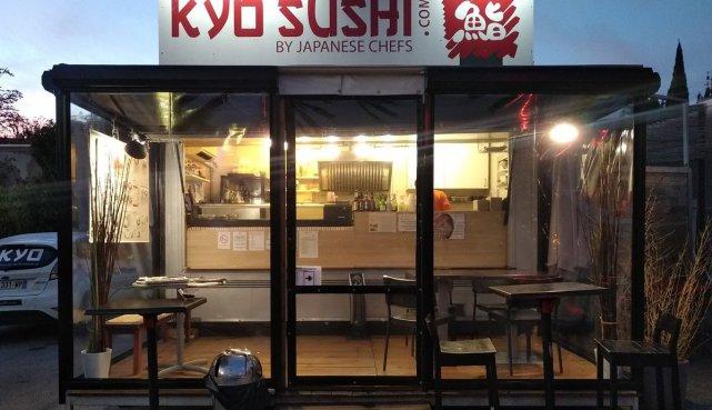 ziptrak cristal Flandin Kyo Sushi