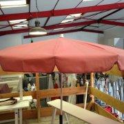 parasol rose ancien
