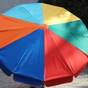 parasol manège à pédale